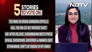 Five Top Stories Of December 05, Pick The Story You Want To Follow On NDTV 24X7 Video