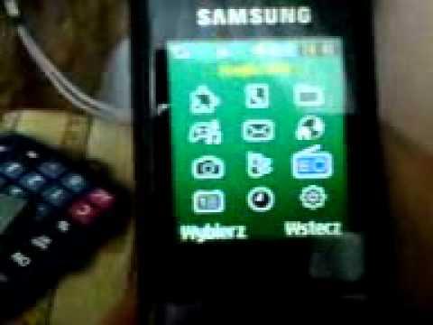 Jak oszukać Samsunga C3050 krok po kroku Rewolucja!!!