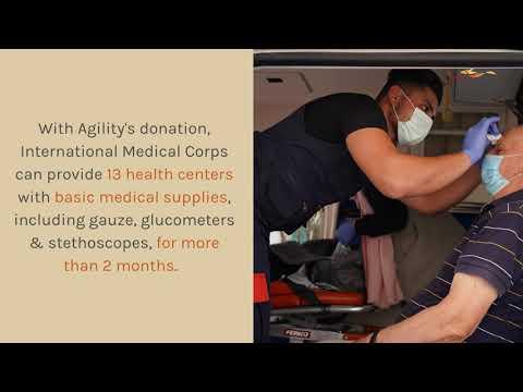 Agility's Lebanon Relief Activities