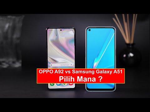 Oppo A92 vs Samsung Galaxy A51 Indonesia , Pilih Mana ?.