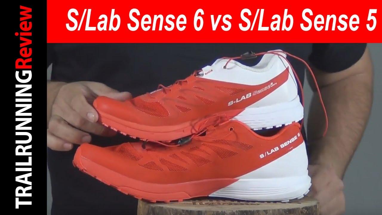 salomon s lab sense 6 vs ultra kiss