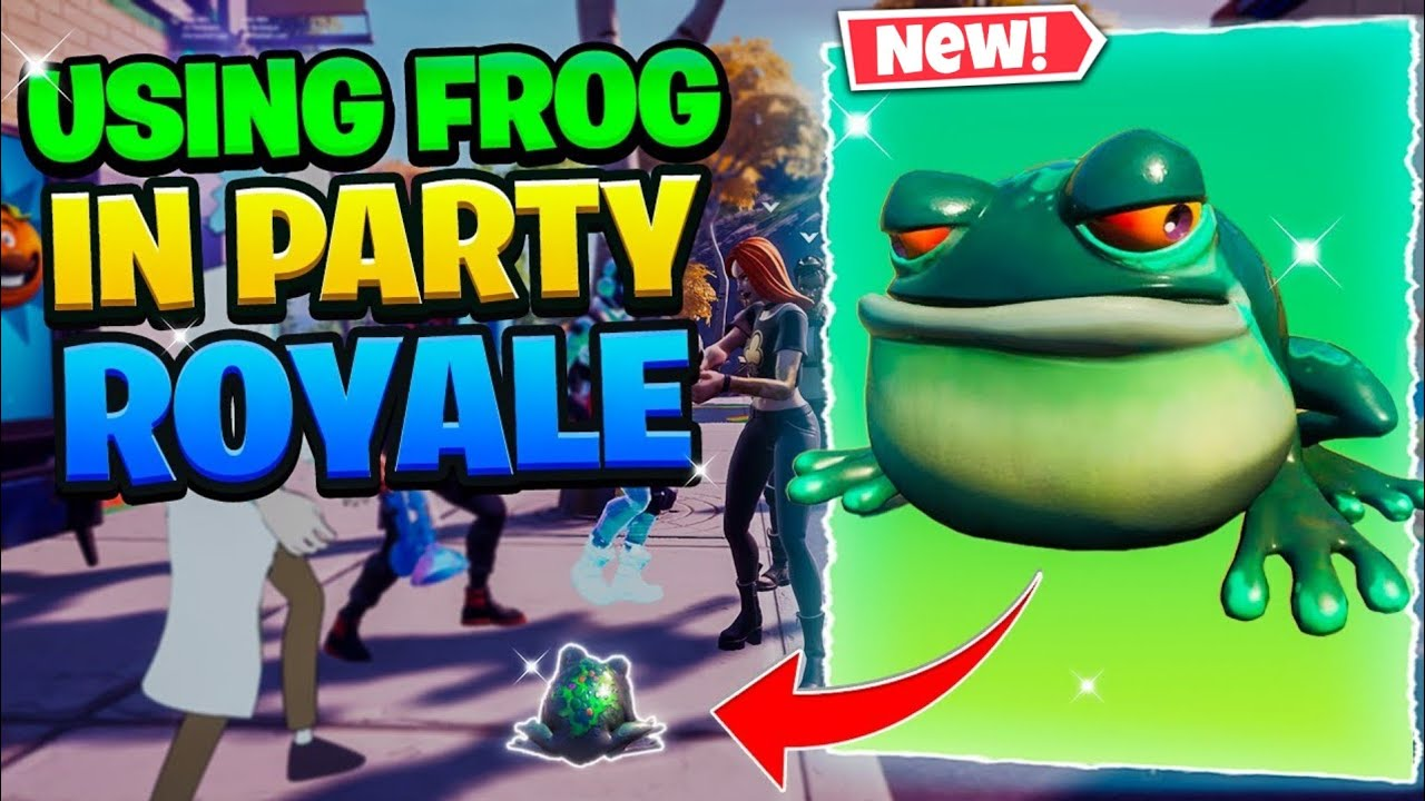 Download Playing Fortnite as a Frog in Party Royale And This Happened....
