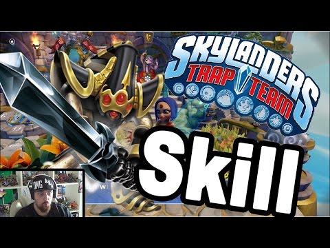 Skylanders Trap Team - Krypt King Skillen auf Schwertmeister [HD] Skylanders verbesserung