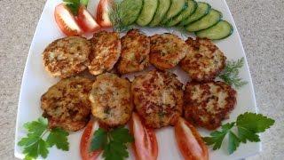 Куриные оладьи с кабачками. Вкусные куриные оладушки с овощами