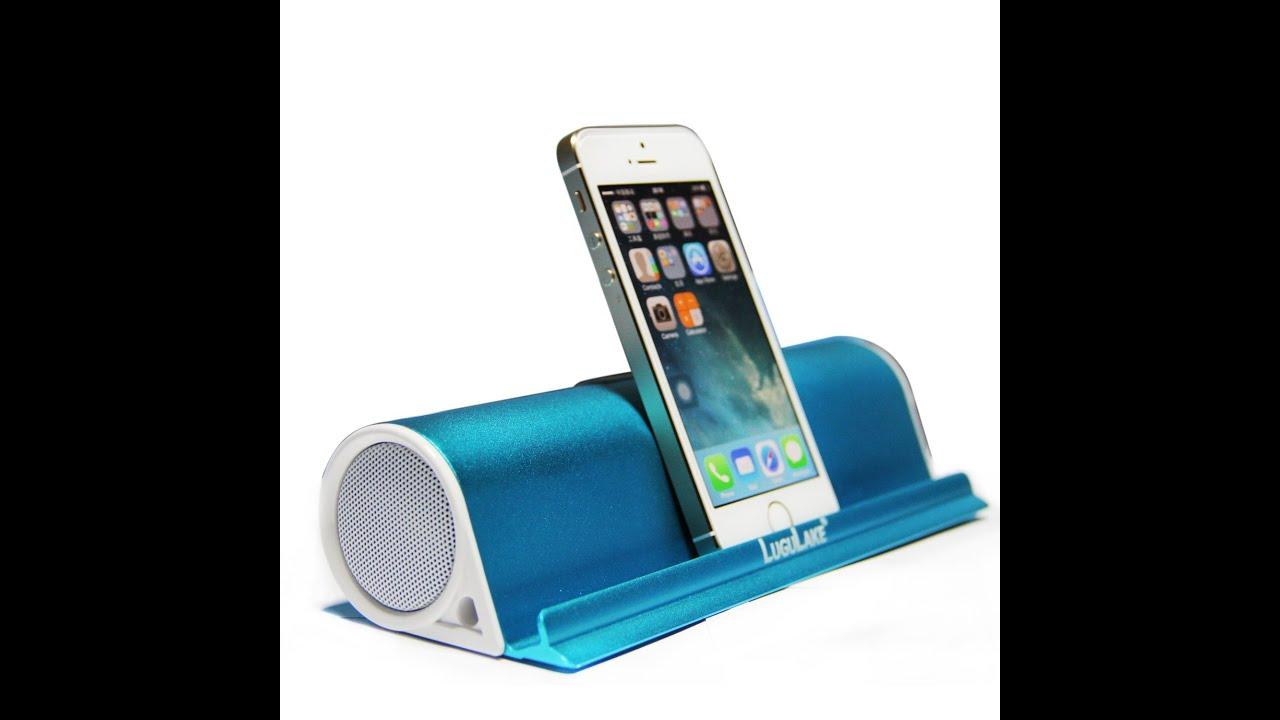 lugulake portable bluetooth speaker stand youtube. Black Bedroom Furniture Sets. Home Design Ideas