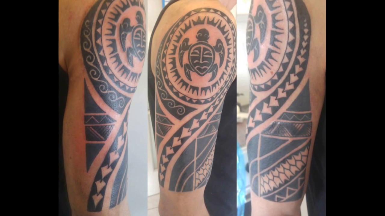Maori Tattoo #1 Part 2 (finished)