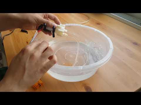 12 Volt Mini Su ve Yağ Aktarma Pompası