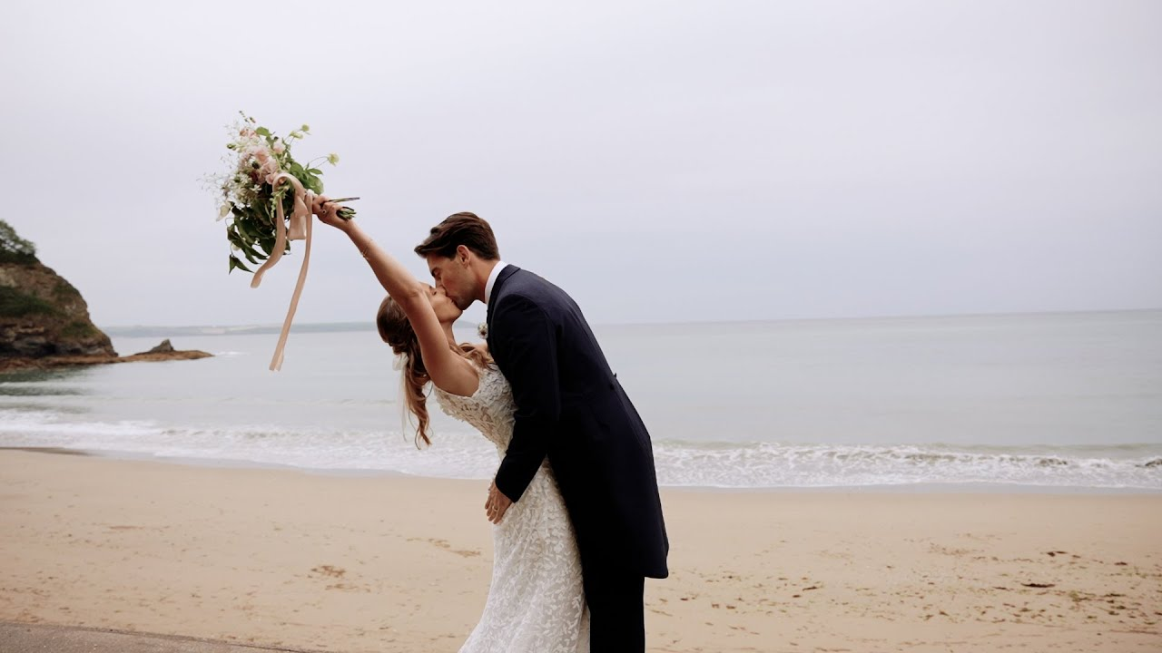 Porthpean House, Cornwall - Wedding Video - Cornwall Wedding Videographer Charlotte Dart