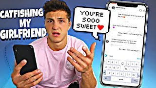 I Made A Fake Account to Catfish My Girlfriend...Does She Cheat?!