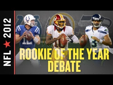 With 2012 NFL Playoffs Underway, A Closer Look at Luck, RG3 or Russell Wilson for Rookie of the Year