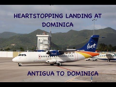 LIAT   ANTIGUA TO DOMINICA   LOUNGE ACCESS   ATR 42-600   TRIP REPORT