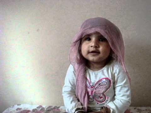 1 Year Old Baby Doing Kirtan