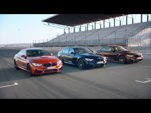 RADICALLY MORE. The new 2017 BMW M4 Coupè, BMW M4 Convertible and BMW M3 Sedan.
