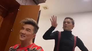 Vũ Hà - Đàm Vĩnh Hưng tiết lộ lý do tâm linh mà các nghệ sĩ nam luôn phải make up khi lên sân khấu