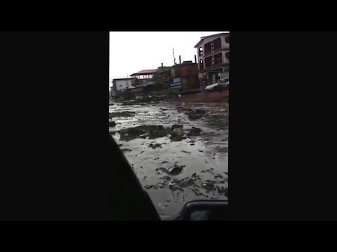 Flooding in Freetown, capital of Sierra Leone