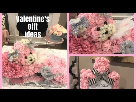 VALENTINES DAY FLOWER DIYS |CUTE TEDDY BEAR