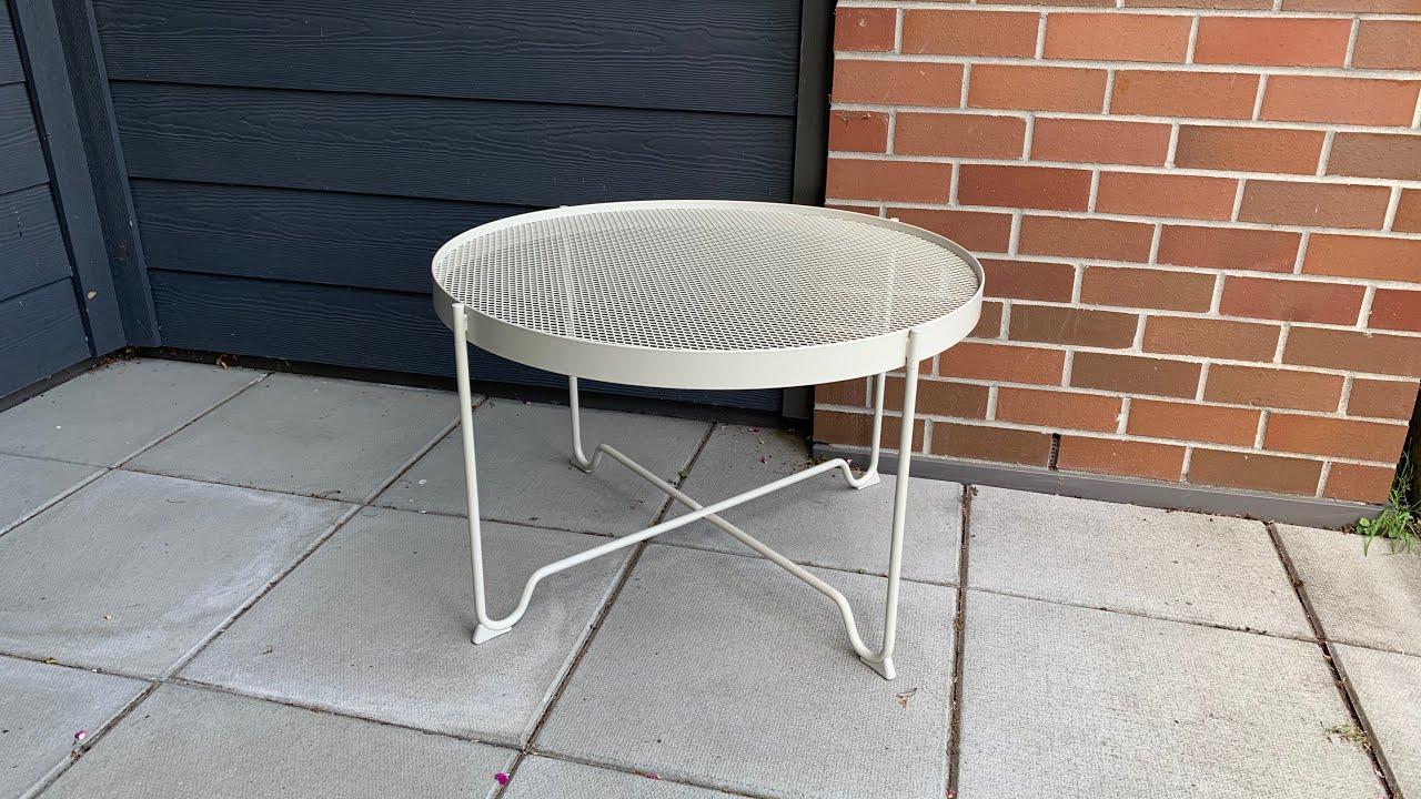 IKEA Krokholmen coffee table assembly