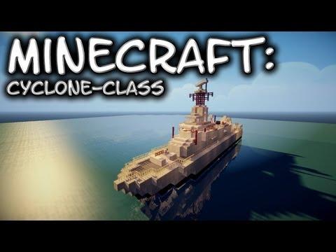 Minecraft: CycloneClass Patrol Vessel Tutorial