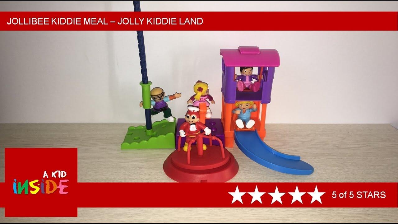 2017 Jollibee Kiddie Meal Jolly Kiddie Land Youtube