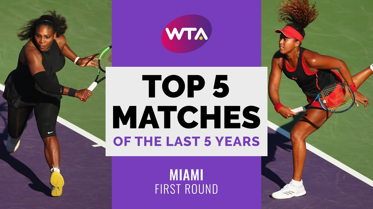 Miami | Top 5 First Round Matches of the Last 5 Years