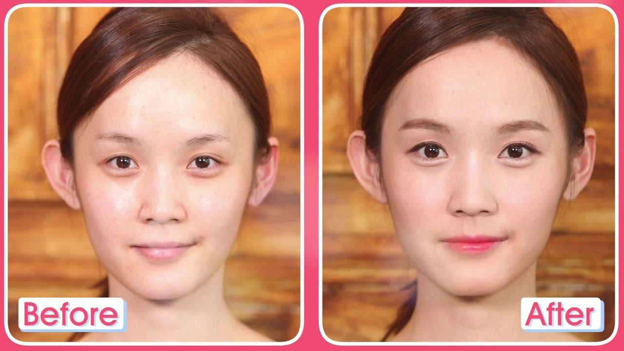 Korean traditional makeup with Hanbok