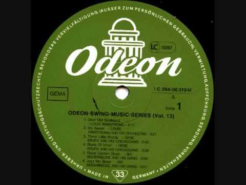 Gene Krupa - Blues Of Israel - Chicago, 19.11. 1935