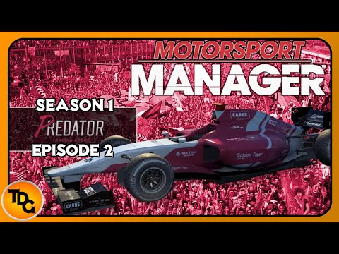 Let's Play Motorsport Manager PC Predator Racing EP2 - Pay Drivers |