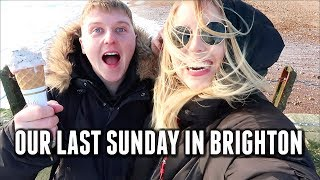 OUR LAST SUNDAY IN BRIGHTON