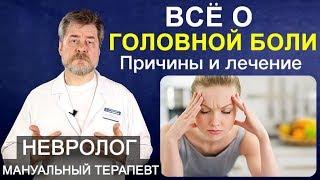 Головная боль или почему болит голова. Причины, виды, диагностика и лечение головной боли, мигрень