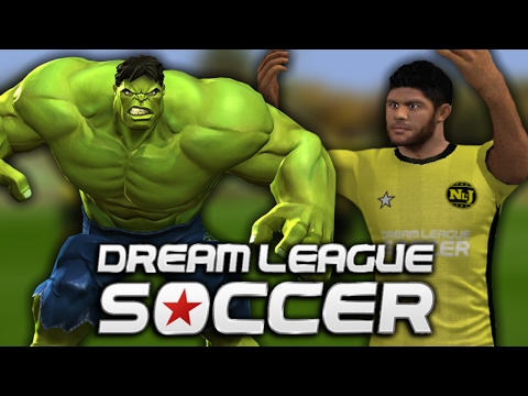 Superhero Team In Dream League Soccer 2016 !!?! [DLS IOS Gameplay]