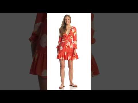 643d2f007b Billabong Women's Ruff Girls Club Long Sleeve Dress | SwimOutlet.com -  YouTube