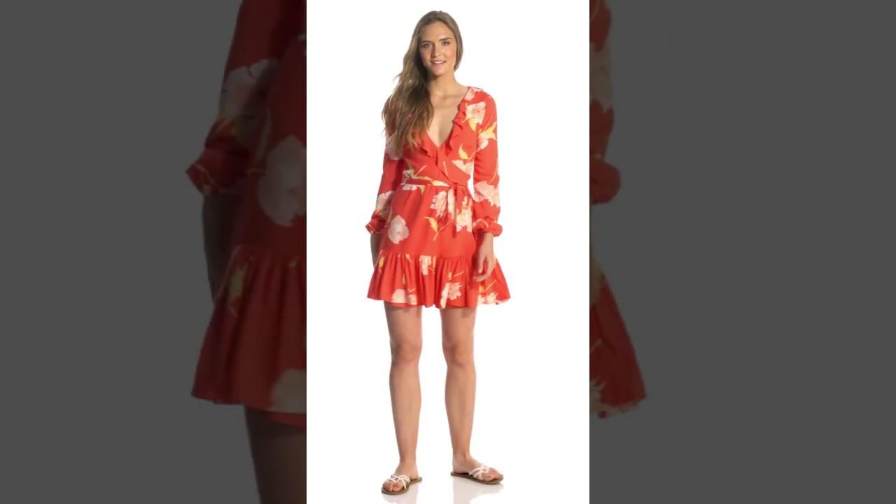 aee1d401a3 Billabong Women's Ruff Girls Club Long Sleeve Dress | SwimOutlet.com ...