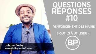 🎓 Q+R #10 - Renforcement des mains à la guitare basse (cours de basse)