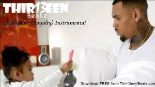Download Chris Brown - Little More (Royalty)   Instrumental Remake MP3 song and Music Video