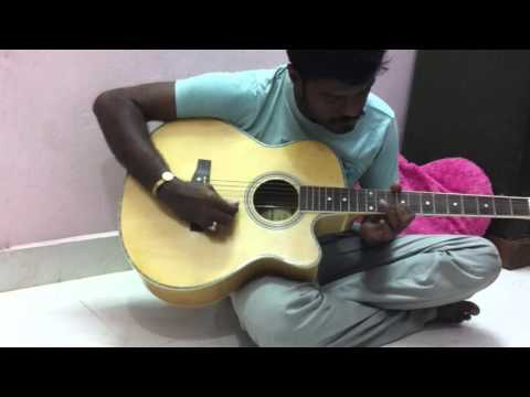 kannazhaga kaalalagha guitar leads by aravind in HD