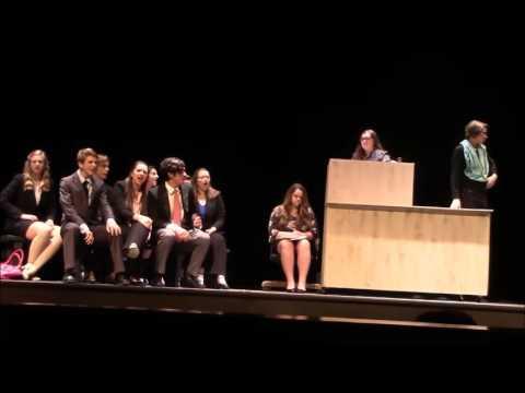 Swansboro High School 2017 Legally Blonde