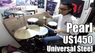 【Ikebe channel】Pearl US1450 [Universal Steel]【#DS渋谷試奏動画】