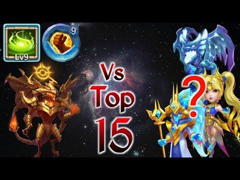 Zephyrica | 9/9 Vigorous Fury Vs Top-15 | 9 BF Insingia | Best Set Up Vs Best Hero | Castle Clash