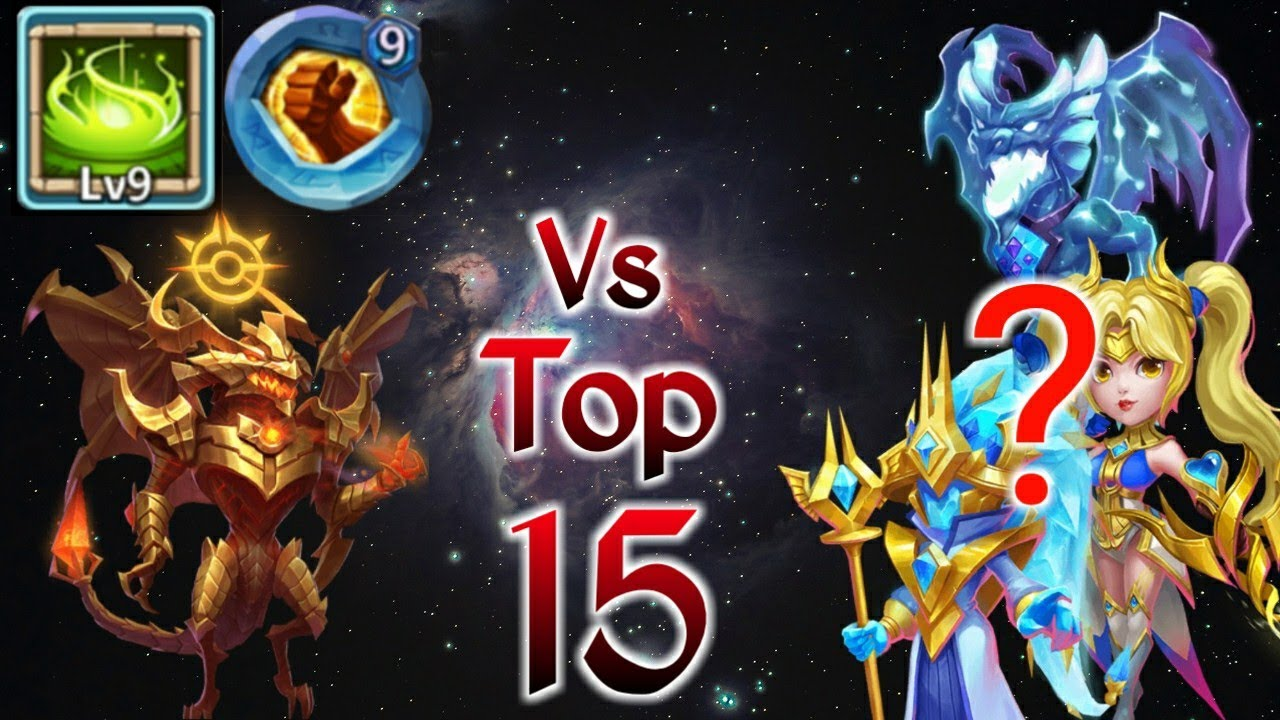 Zephyrica | 9/9 Vigorous Fury Vs Top-15 | 9 BF Insingia | Best set up Vs  best hero | Castle clash