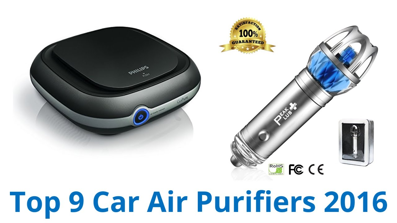 9 best car air purifiers 2016 youtube for Best air purifier 2016