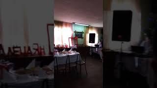 Оформление свадьбы в розовом, сереневом и синем цвете кафэ,, Логово,, г. Тулуна