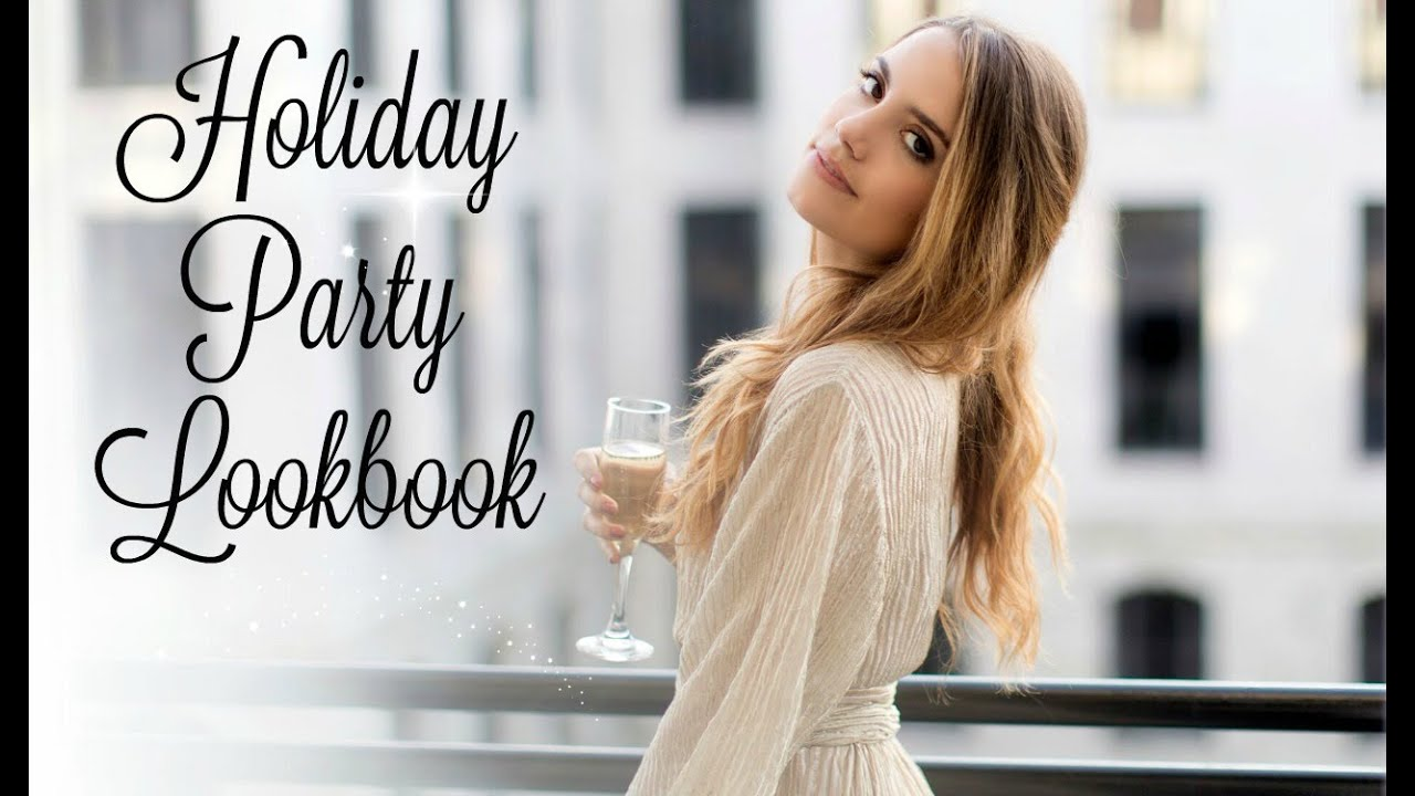 073e6781cb28 Holiday Party Lookbook | 5 Festive Outfit Ideas! - YouTube
