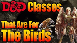 D&D Races Aarakocra and Kenku - What Character Class Should You Play