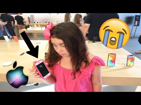 Is Her iPhone BROKEN!? Going Back to the Apple Store!