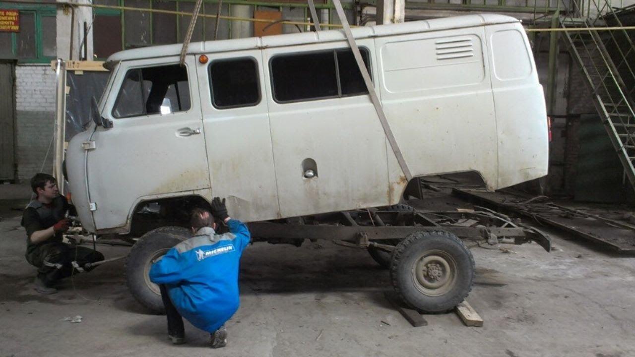 Купил по дешману УАЗ буханку и сделал НЕЧТО с V6 190 л с