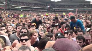 limp bizkit sit down jump up crowd soundwave sydney feb 2012