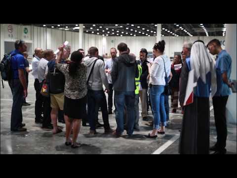 Delegates visit ADNEC, WorldSkills 2017 venue