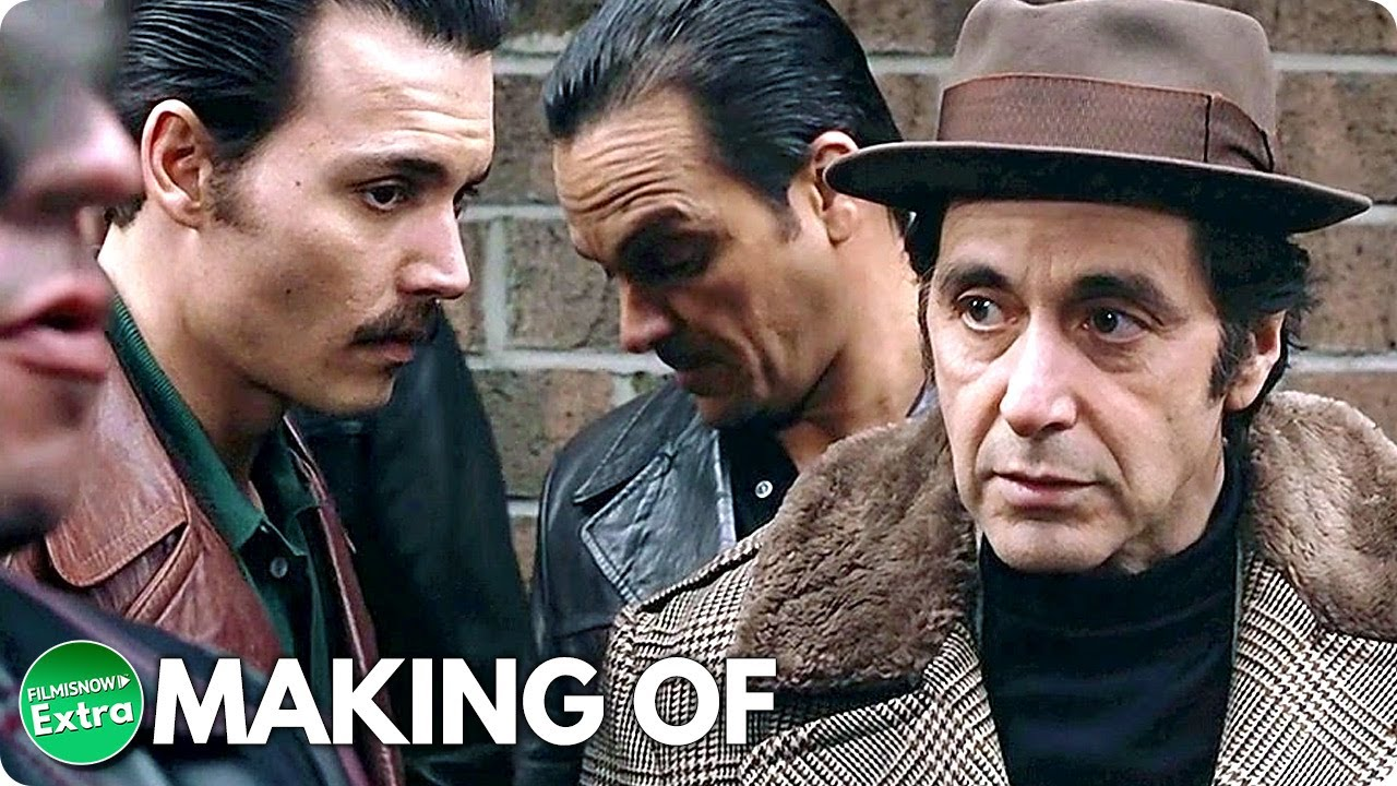 DONNIE BRASCO (1997) | Behind the Scenes of Johnny Depp Gangster Movie