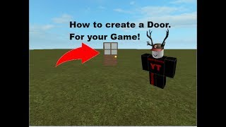 ROBLOX | F3X Speed Build - Creating a Door! [Tutorial]