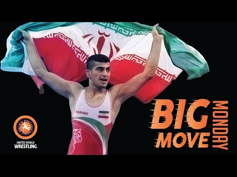 Big Move Monday -- Mohsen MADHANI (IRI) -- 2017 Cadet World C'ships